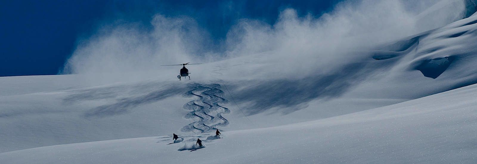 Heli-ski in Kamchatka