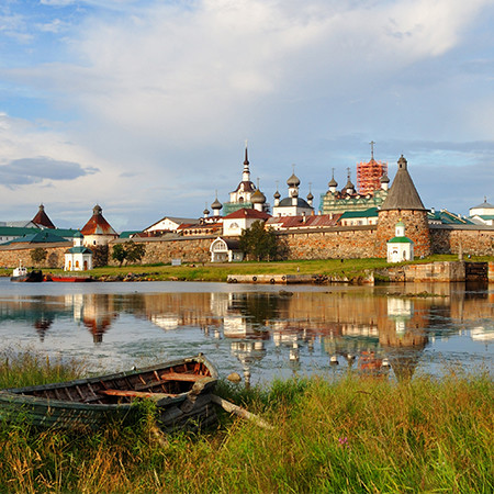 Solovetsky Islands — Valaam — Kizhi