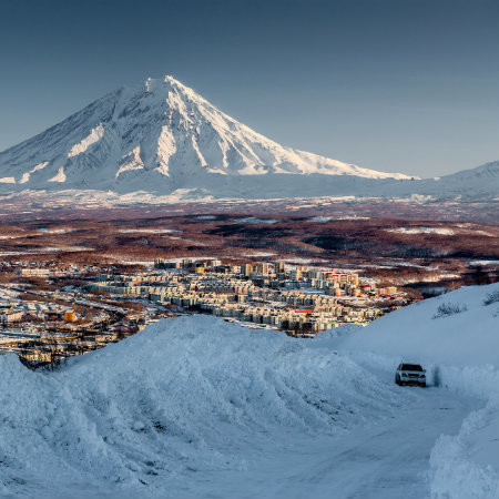 Winter Kamchatka