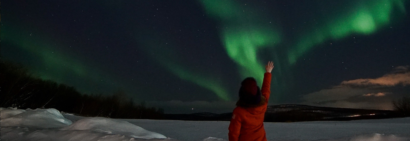 In search of Northern lights
